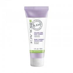 Nuo karščio apsauganti plaukų priemonė Biolage Raw Color Heat Styling Primer 150ml