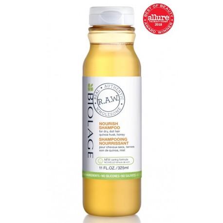 Maitinantis šampūnas sausiems, pažeistiems plaukams Biolage Raw Nourish Shampoo 325ml