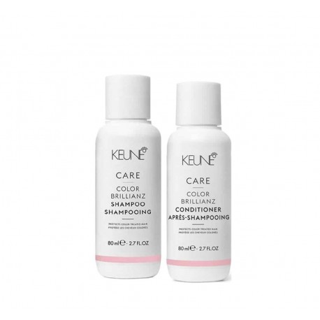 Kelioninis rinkinys KEUNE COLOR BRILLIANZ Travel Set (šampūnas 80ml + kondicionierius 80ml)