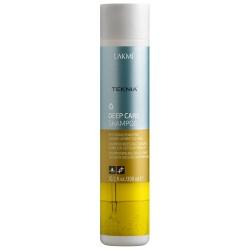 Atatomasis šampūnas sausiems ir lūžinėjantiems plaukams Lakme Teknia Deep Care Shampoo 300ml