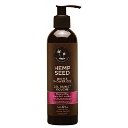Kūno prausiklis Hemp Seed Bath & Shower gel Skinny Dip 237ml
