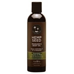 Masažinis kūno aliejus Hemp Seed Massage & Body Oil Guavalava 237ml