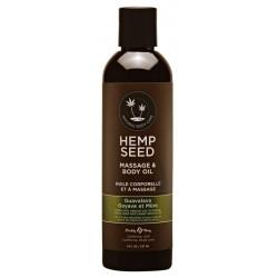 Masažinis kūno aliejus Hemp Seed Massage & Body Oil Guavalava 237ml