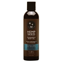 Masažinis kūno aliejus Hemp Seed Massage & Body Oil Morrocan Nights 237ml