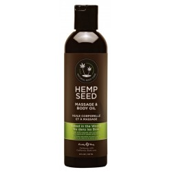Masažinis kūno aliejus Hemp Seed Massage & Body Oil Naked in the Woods 237ml