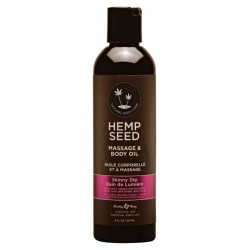 Masažinis kūno aliejus Hemp Seed Massage & Body Oil Skinny Dip 237ml