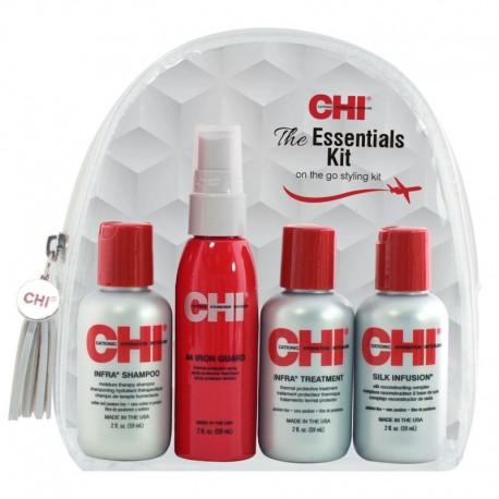 Kelioninis rinkinys dažytiems plaukams CHI Infra