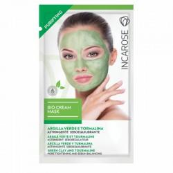 Valomoji kreminė veido kaukė INCAROSE Bio Cream Mask Purifying 15ml