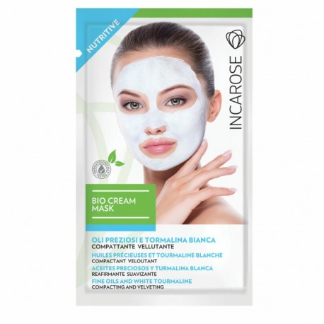 Maitinamojo kreminė veido kaukė INCAROSE Bio Cream Mask Nutritive 15ml