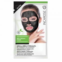 Atkuriamoji kreminė veido kaukė INCAROSE Bio Cream Mask Detox 15ml