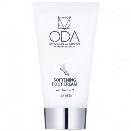 Minkštinamasis pėdų kremas su arbatmedžio aliejumi ODA Softening foot cream 50ml
