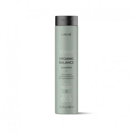 Drėkinamasis šampūnas plaukams Lakme Teknia Organic Balance 300ml