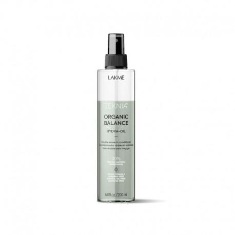 Dvifazis nenuskalaujamas purškiamas kondicionieirus plaukams Lakme Teknia Organic Balance Hydra Oil 200ml