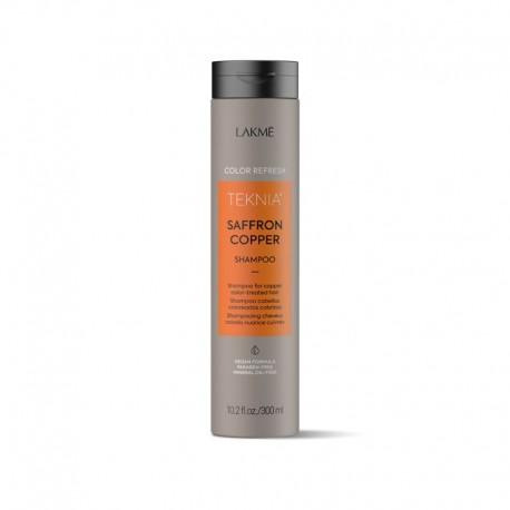 Vario spalvą ryškinantis šampūnas Lakme Teknia Saffron Copper Shampoo 300ml