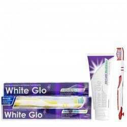Balinamoji dantų pasta ir skalavimo skystis 2in1 WHITE GLO 2IN1 Mouthwash