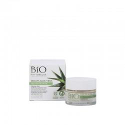 Matiškumo suteikiantis gelis riebiai veido odai su alijošiumi Bio Phytorelax Laboratories Aloe Cream 50ml