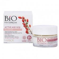 Naktinis atstatomasis serumas brandžiai odai Bio Phytorelax Laboratories Night Cream 50ml