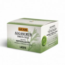 Kūno šveitiklis drenuojamasis - anticeliulitinis GUAM Algascrub Dren-Cell 420g