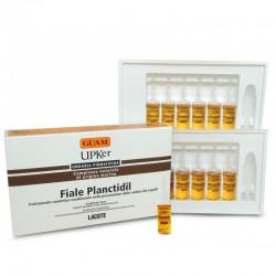 Priemonė stabdanti plaukų slinkimą GUAM UPKer PLANCTIDIL 12vnt po 7ml