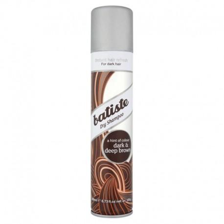 Sausas rudos spalvos šampūnas Batiste Dark & Deep Brown 200ml