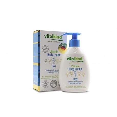 Kūno losjonas su vitaminais vaikams Vitalkin Body Lotion 200ml