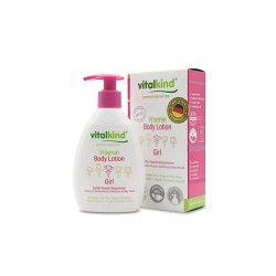 Kūno losjonas su vitaminais mergaitėms Vitalkin Body Lotion 200ml