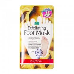 Šveičiamojo pėdų kaukė - kojinės didelio dydžio Purederm Exfoliating Large 1 pora
