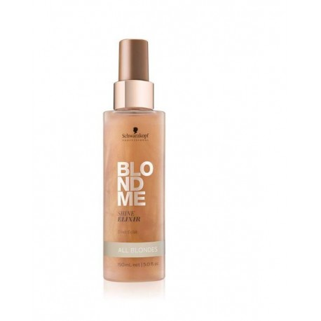 Blizgesio suteikiantis eliksyras plaukams Schwarzkopf Professional Blond Me  150ml