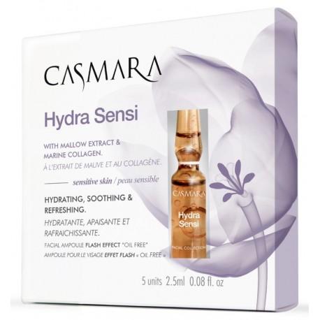 Ampulės drėkinančios veido odą Casmara Hydra Sensi Ampoule 2.5 ml, 5 vnt