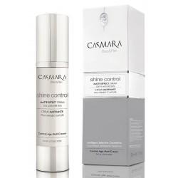Matinį efektą suteikiantis kremas brandžiai veido odai Casmara Shine Control Matte Effect Cream 50 ml