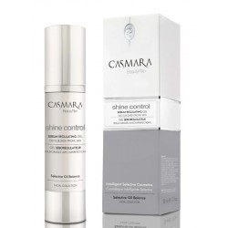 Odos riebalų išsiskyrimą reguliuojantis kremas Casmara Shine Control Sebum Regulating Gel 50 ml