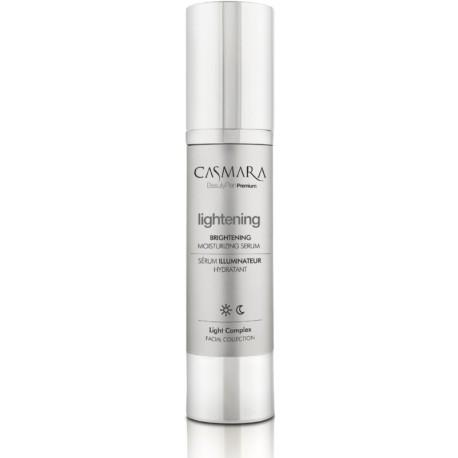 Veido odą skaistinantis ir drėkinantis serumas Casmara Lightening Brightening Moisturizing Serum, 50 ml