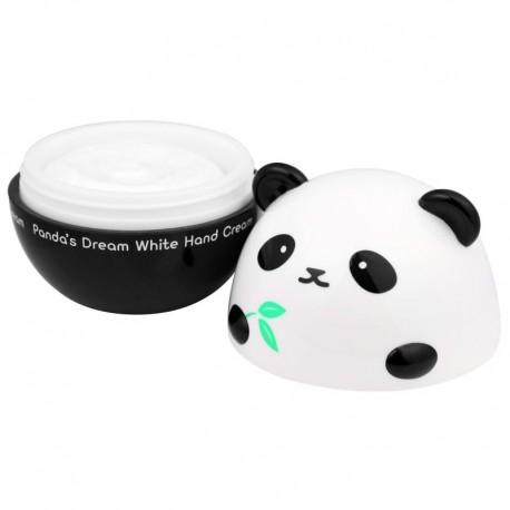 Rankų kremas su bambuku ekstraktu Tonymoly Panda's Dream White Hand Cream 30g