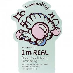 Švytėjimo suteikianti perlų veido kaukė Tonymoly I Am Pearl Mask Sheet 1vnt