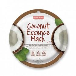 Veido kaukė su kokosų ekstraktu Purederm Coconut Essence Mask 18g