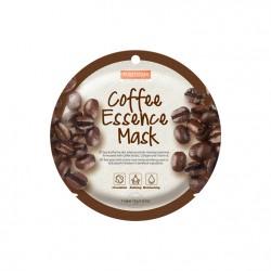 Veido kaukė su kavos ekstraktu Purederm Coffee Essence Mask 18g