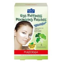 Paakių patinimą mažinanti kaukė Purederm Eye Puffiness Minimizing Patches Ginkgo 6vnt