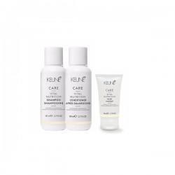 Kelioninis rinkinys KEUNE VITAL NUTRITION Travel Set (šampūnas 80ml+kondicionierius 80ml+Kaukė 50ml)