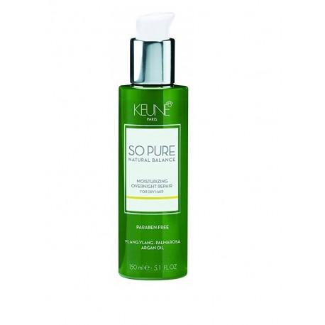 Naktinio atkūrimo priemonė plaukų drėkinimui Keune So Pure MOISTURIZING 150 ml