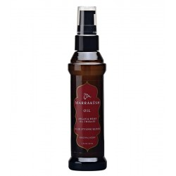 Arganų ir kanapių sėklų aliejus plaukams MARRAKESH Oil Argan & Hemp Oil Therapy Hair Styling Elixir Original 60ml