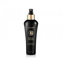 Nenuplaunamas purškiklis plaukų glotnumui ir absoliučiai detoksikacijai T-LAB Professional Royal Detox Leave-in Spray 130ml