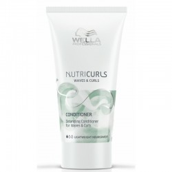 Maitinantis kondicionierius garbanotiems plaukams Wella NutriCurls Detangling Conditioner