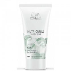 Kaukė garbanotiems ir banguotiems plaukams Wella NutriCurls Deep Treatment