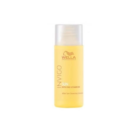 Šampūnas po saulės su Pro-Vitaminu B5 Wella After Sun Cleansing Shampoo