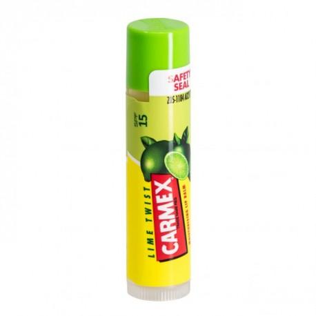 Lūpų balzamas laimo skonio ir kvapo CARMEX Lip Balm Premium Lime Stick