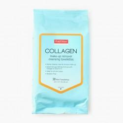 Makiažo valymo servetėlės Purederm Collagen 30 vnt.