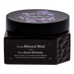 Mineralinė drėkinanti kaukė besipučiantiems plaukams Saphira DIVINE Saphira Divine Mineral Mud 250ml