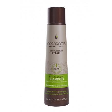 Maitinamasis, drėkinamasis šampūnas sausiems plaukams Macadamia
