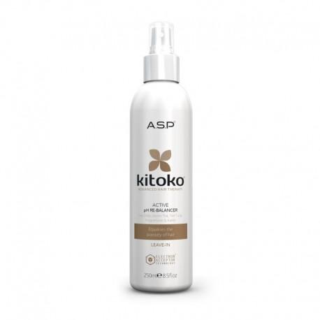 Purškiama atstatymo priemonė, pažeistiems plaukams Kitoko Active pH Rebalancer 250ml