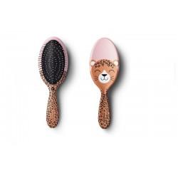 Ovalus plaukų šepetys Leopardas HH Simonsen Wonder Brush KIDS